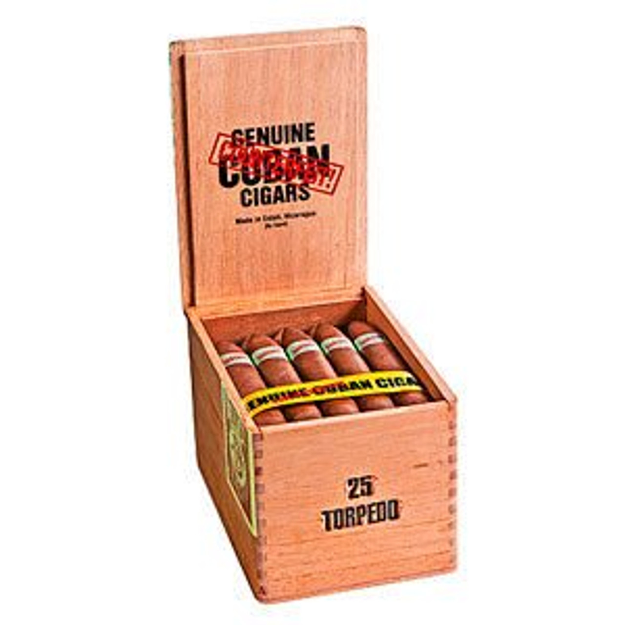 Genuine Counterfeit Cubans Lonsdale Cigars - 6.75 x 42 (Cedar Chest of 25)