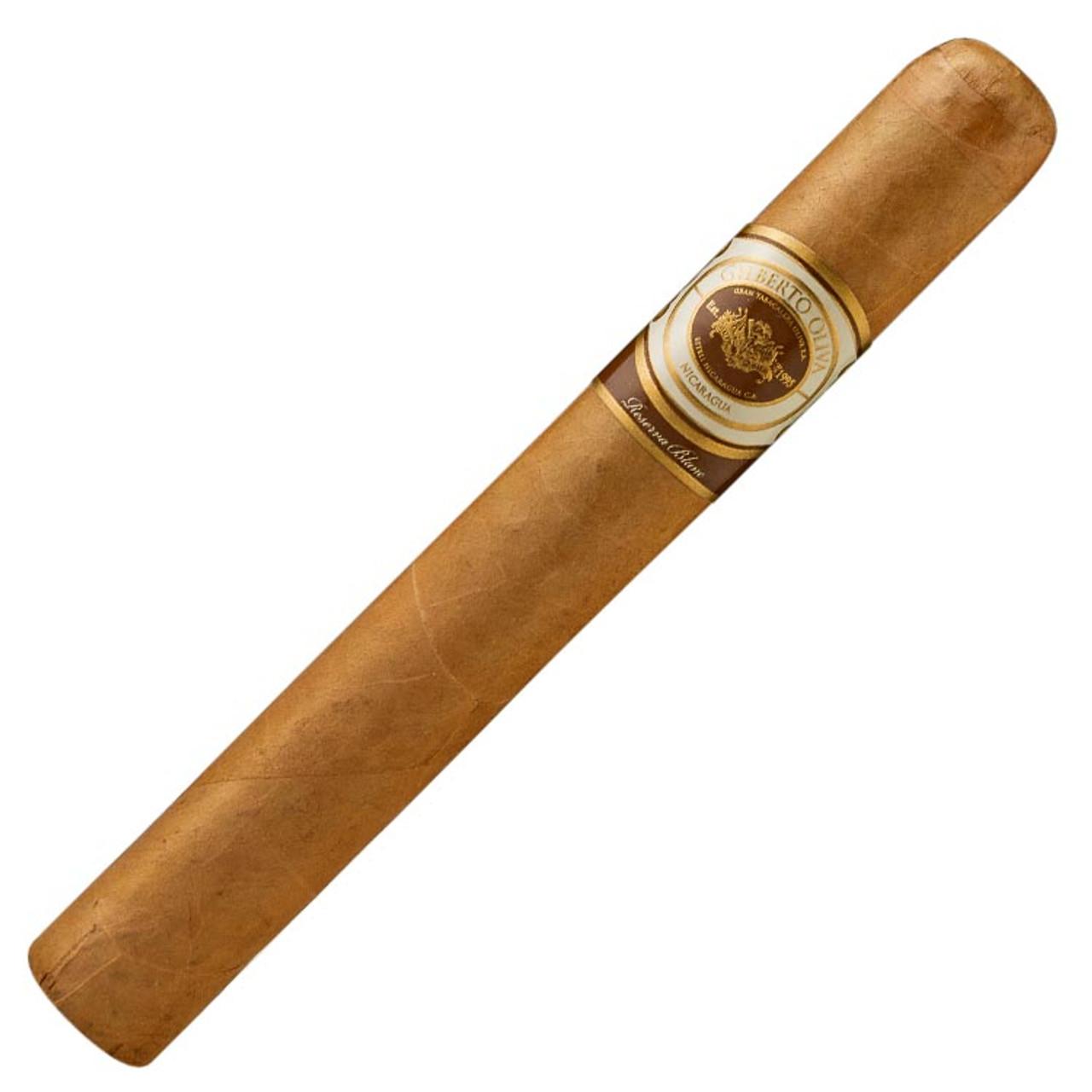 Gilberto Oliva Reserva Blanc Robusto Cigars - 5 x 50 (Box of 20)
