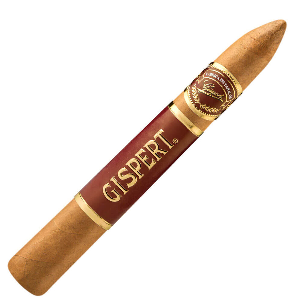 Gispert Belicoso Cigars - 6.12 x 52 (Pack of 5)