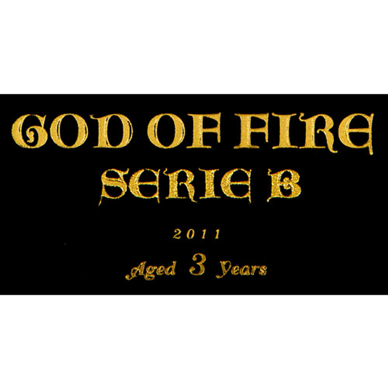 God of Fire Serie B Gran Toro Cigars - 6 x 56 (Box of 10)