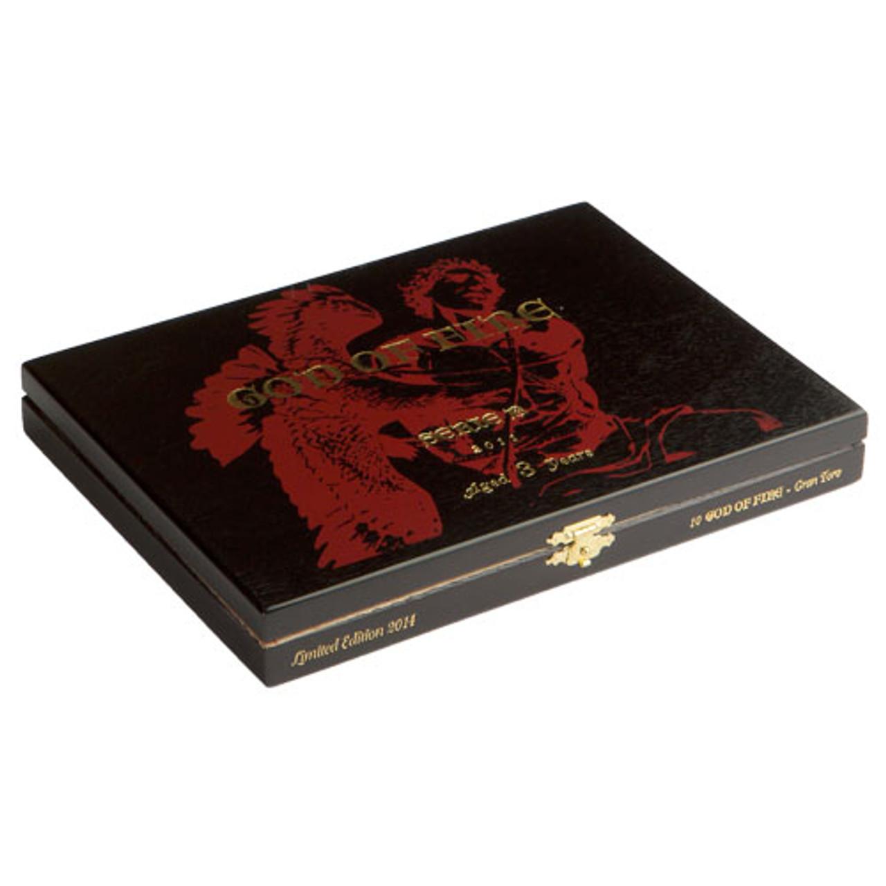 God of Fire Serie B Robusto Gordo Cigars - 5.5 x 54 (Box of 10)