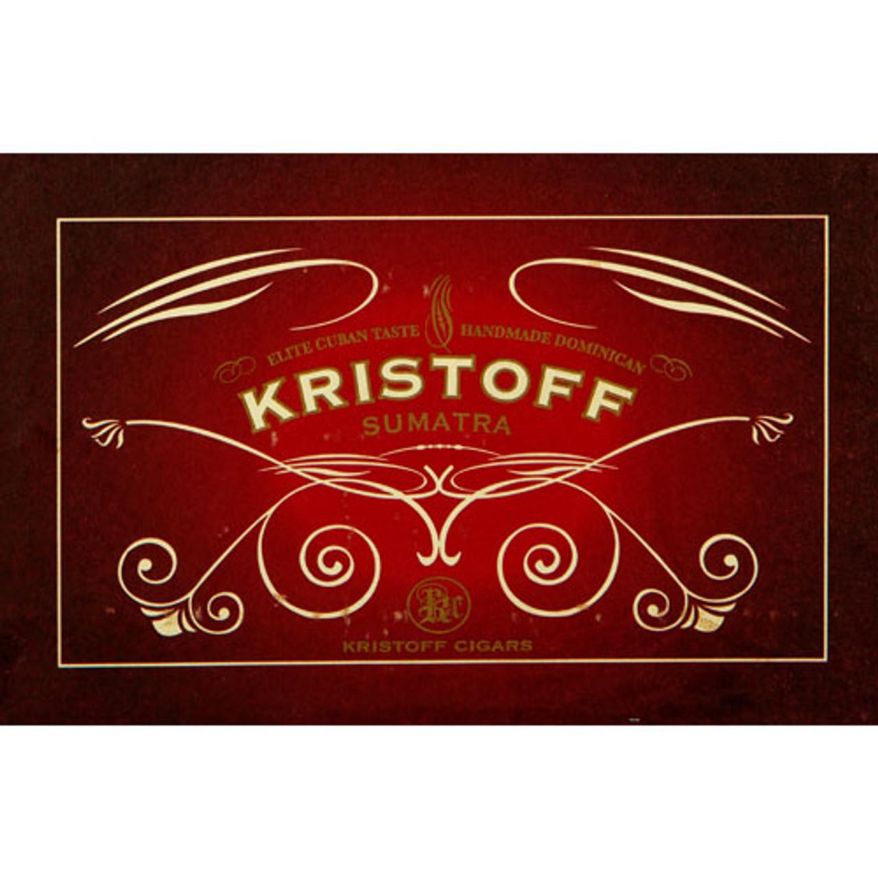 Kristoff Sumatra Robusto Cigars - 5.5 x 54 (Box of 20)