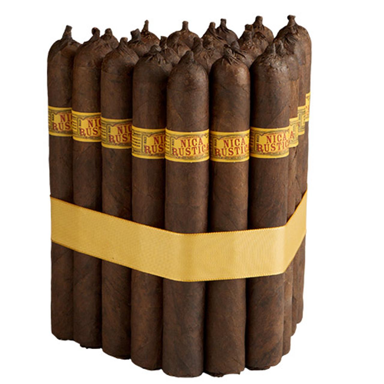 Nica Rustica Belly Cigars - 7.5 x 50 (Bundle of 25)