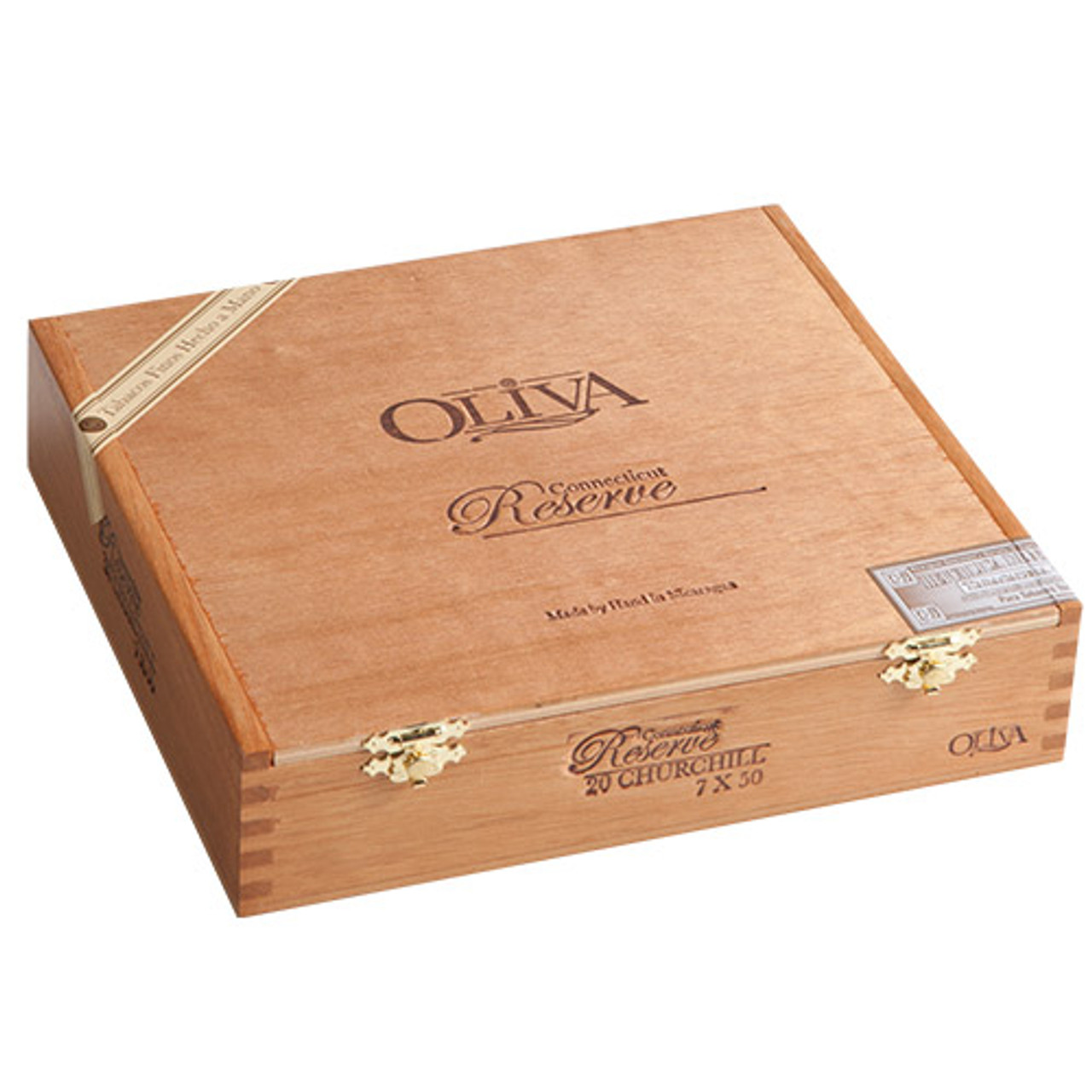 Oliva Connecticut Reserve Double Toro Cigars - 6 x 60 (Pack of 10)
