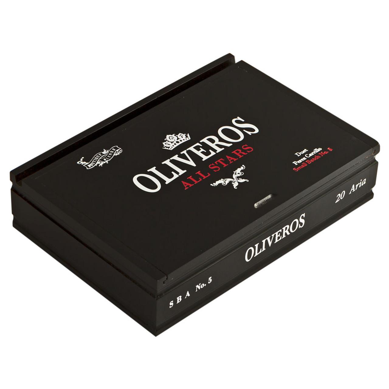 Oliveros All Stars #5 Fugue Cigars - 5.5 x 52 (Box of 20)