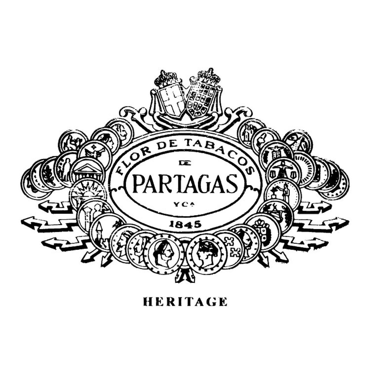 Partagas Heritage Robusto Cigars - 5.5 x 52 (Box of 20)