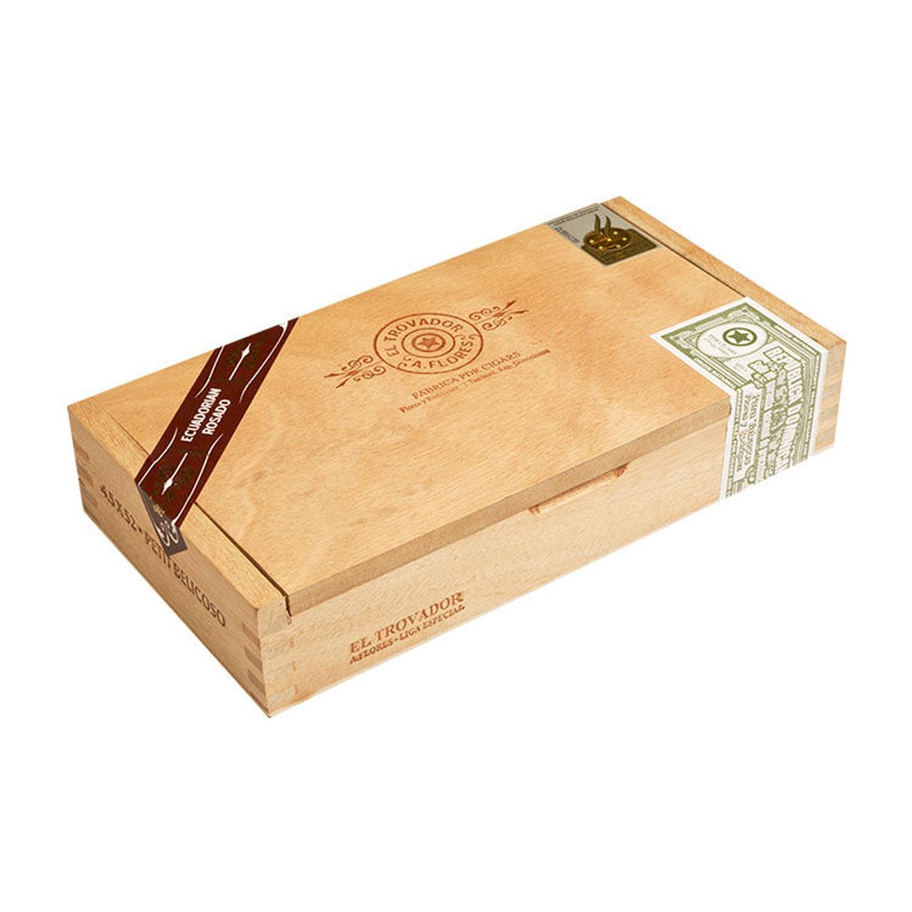 PDR El Trovador Petit Belicoso Cigars - 4.5 x 50 (Box of 24)
