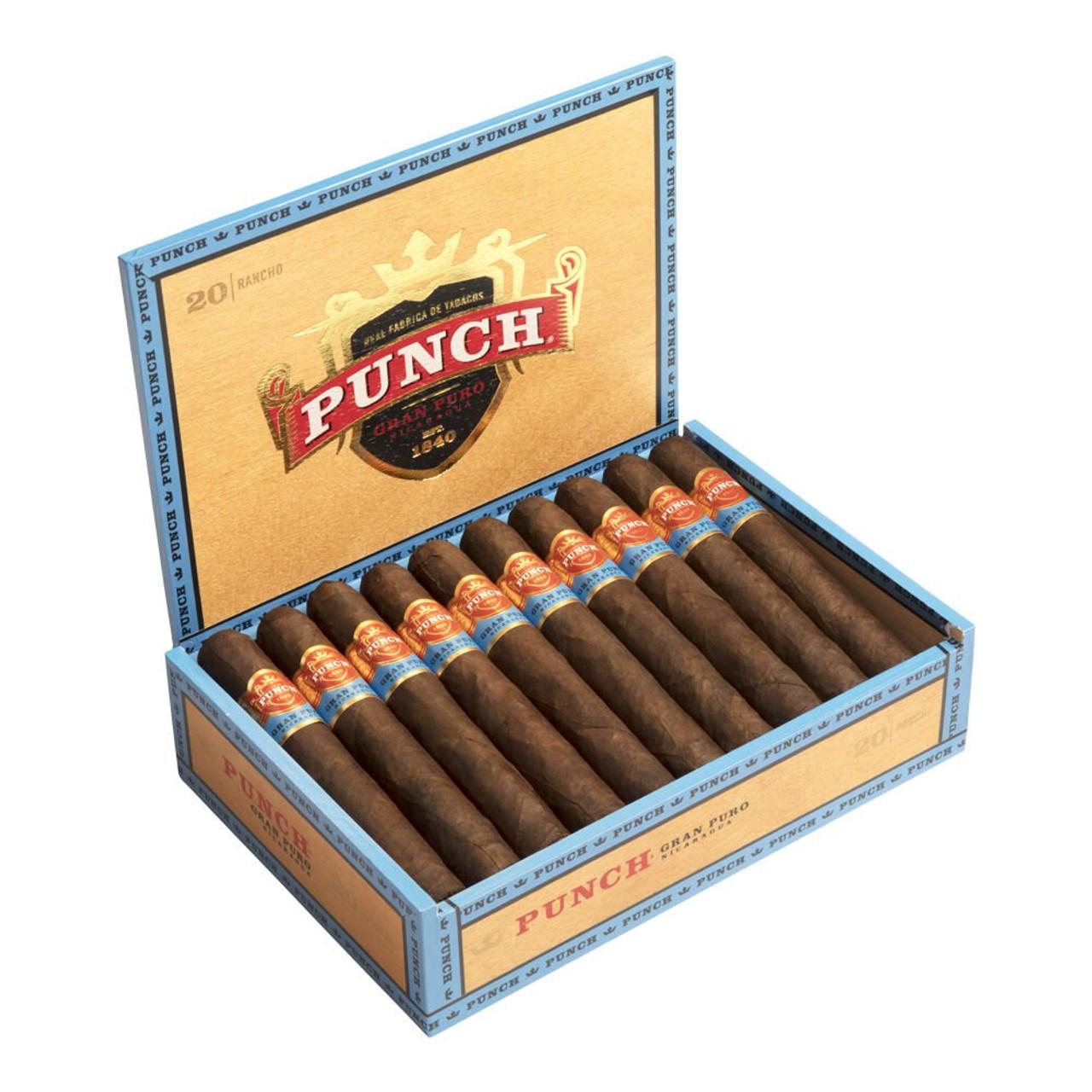 Punch Gran Puro Nicaragua Cigars - 7.5 x 54 (Box of 20)