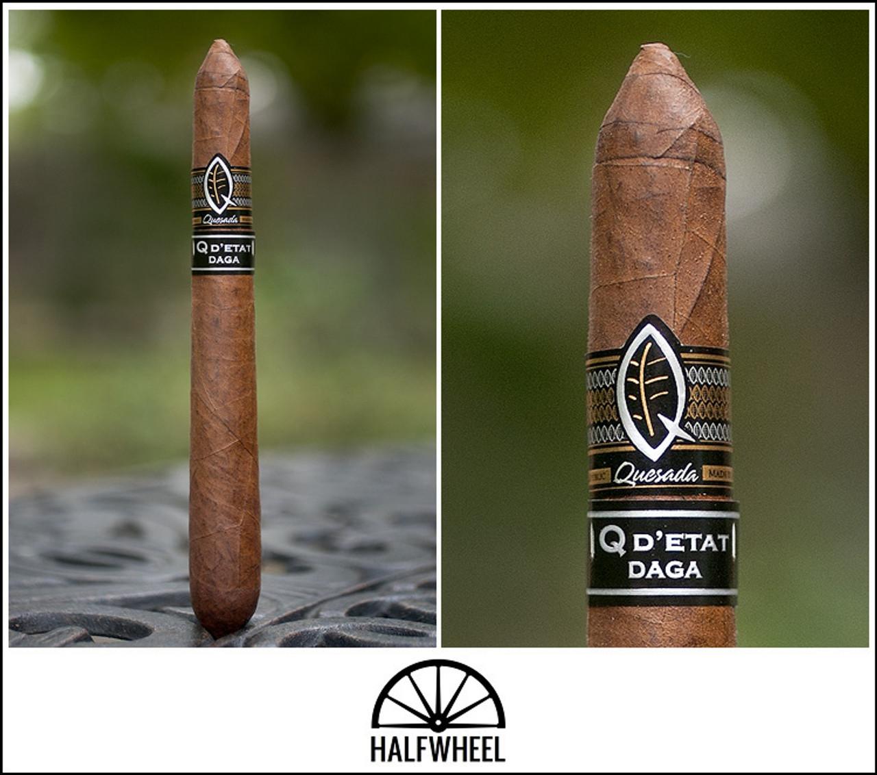 Quesada Q D'Etat Daga Cigars - 7.5 x 54 (Box of 10)