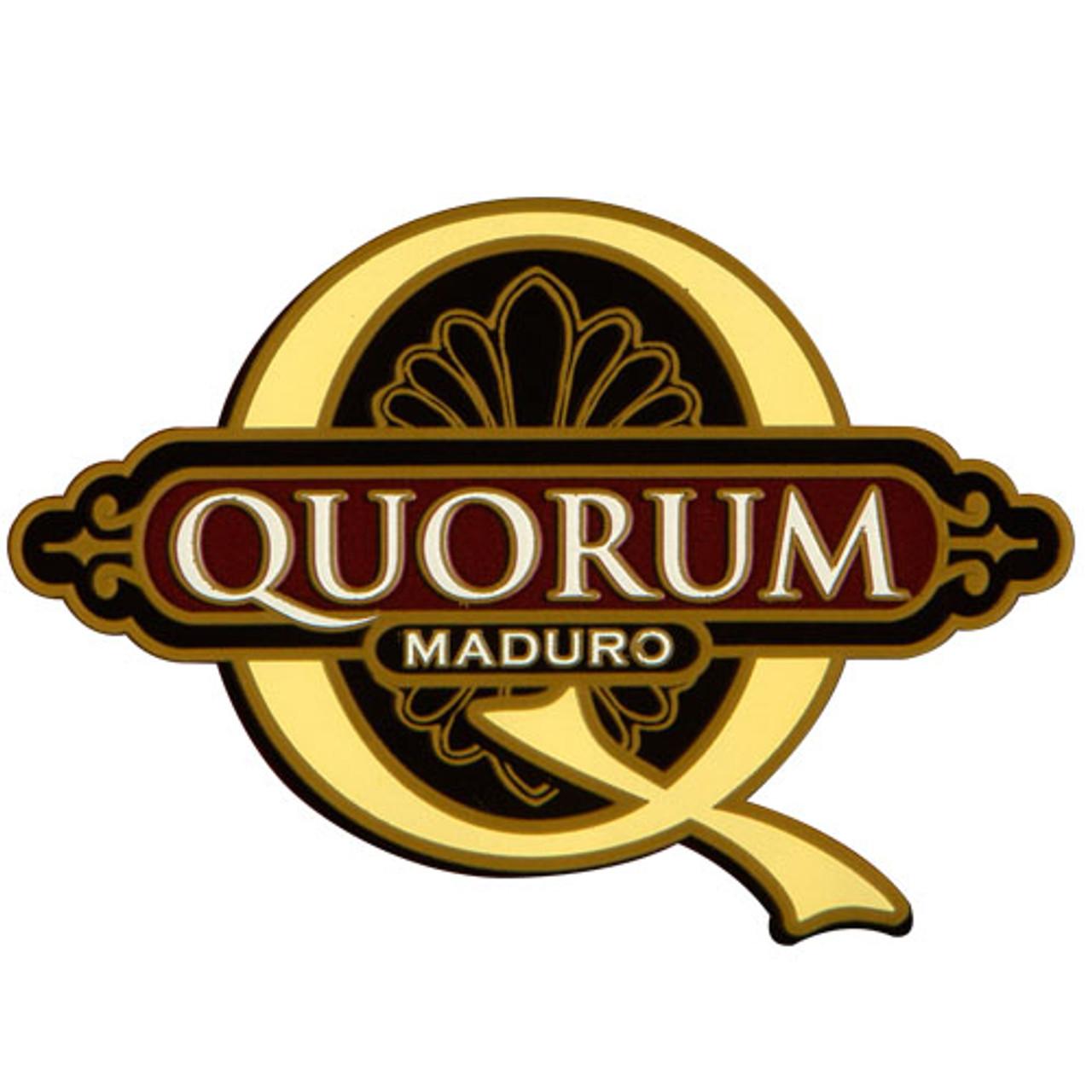 Quorum Maduro Robusto Cigars - 4.75 x 50 (Bundle of 20)