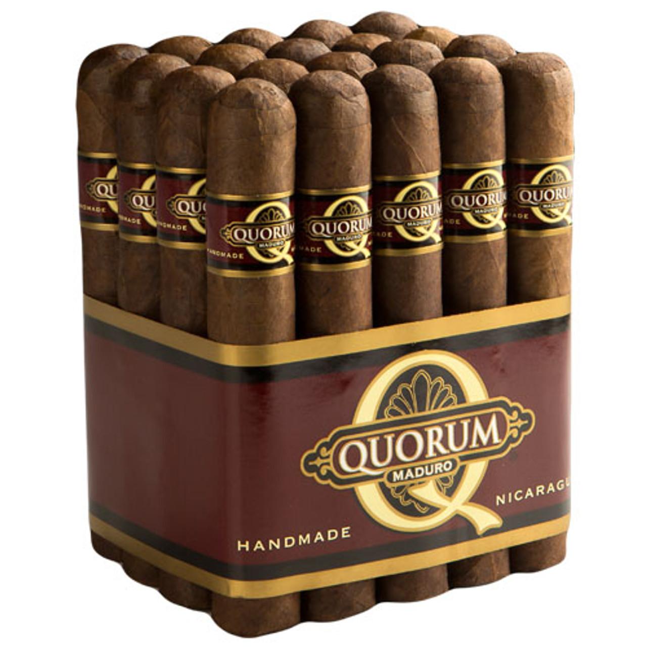 Quorum Maduro Toro Cigars - 6 x 50 (Bundle of 20)
