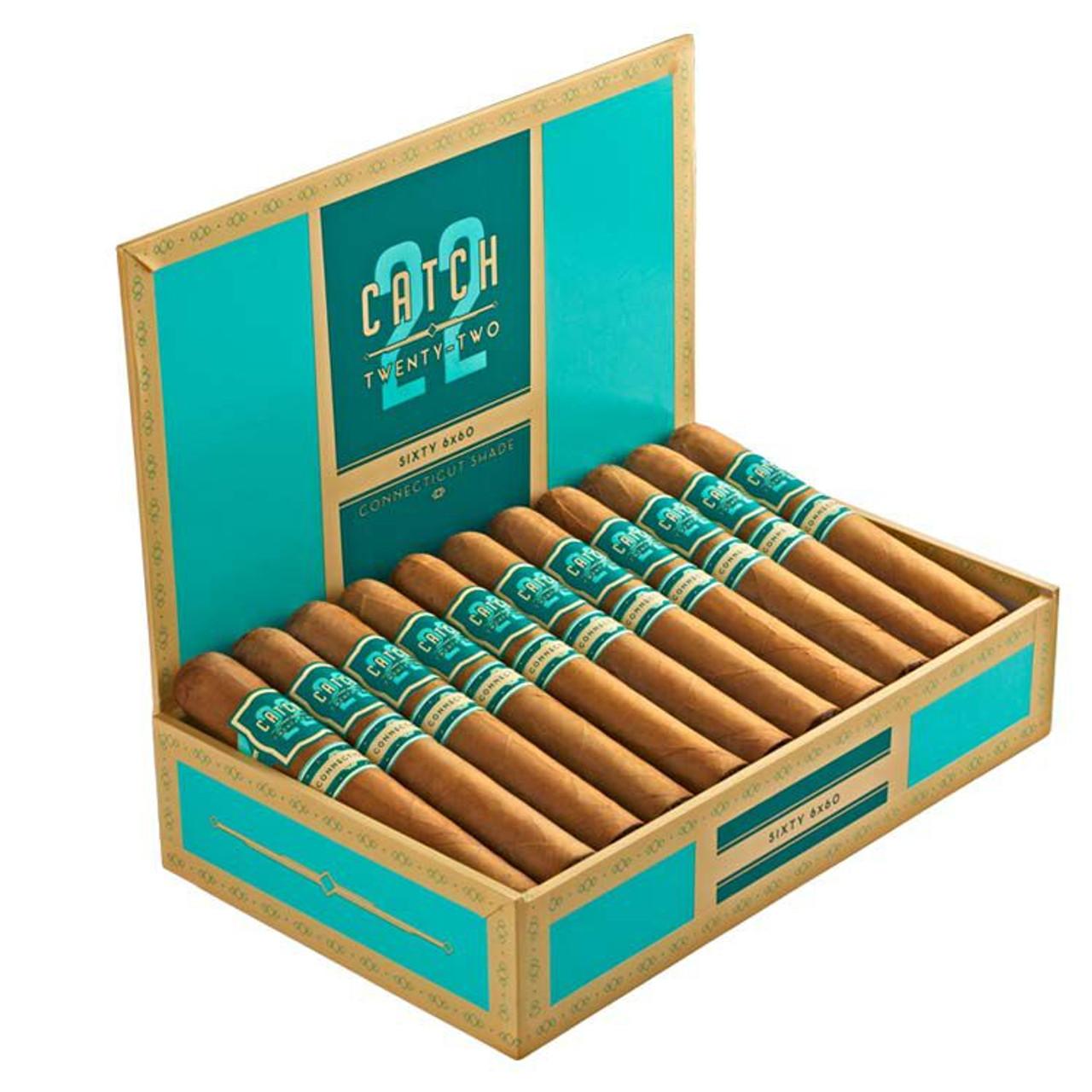 Rocky Patel Catch 22 Connecticut Rothchild Cigars - 4.5 x 50 (Box of 22)