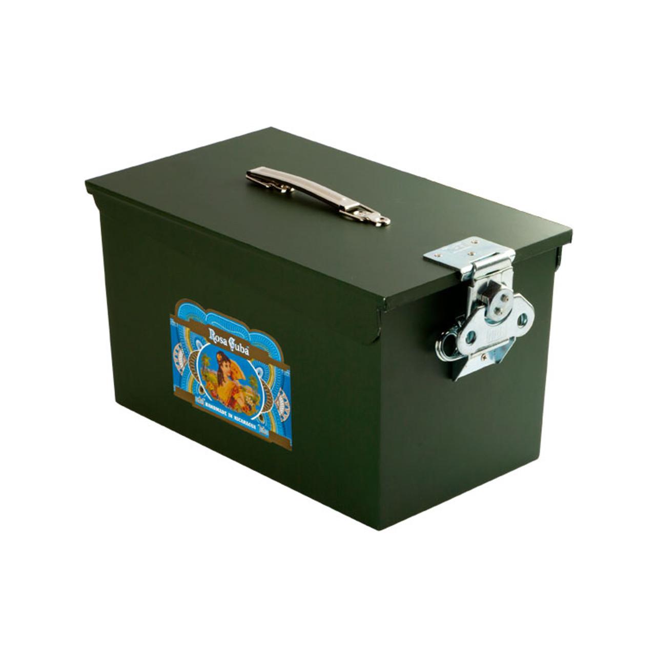 Rosa Cuba Ammo Can Cigars - 6 x 50 (Ammo Box of 91)