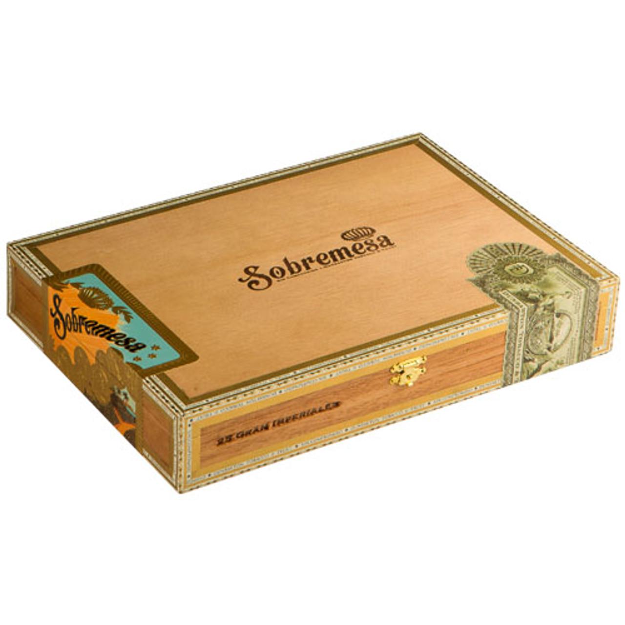 Sobremesa Torpedo Tiempo Cigars - 6 x 54 (Box of 25)