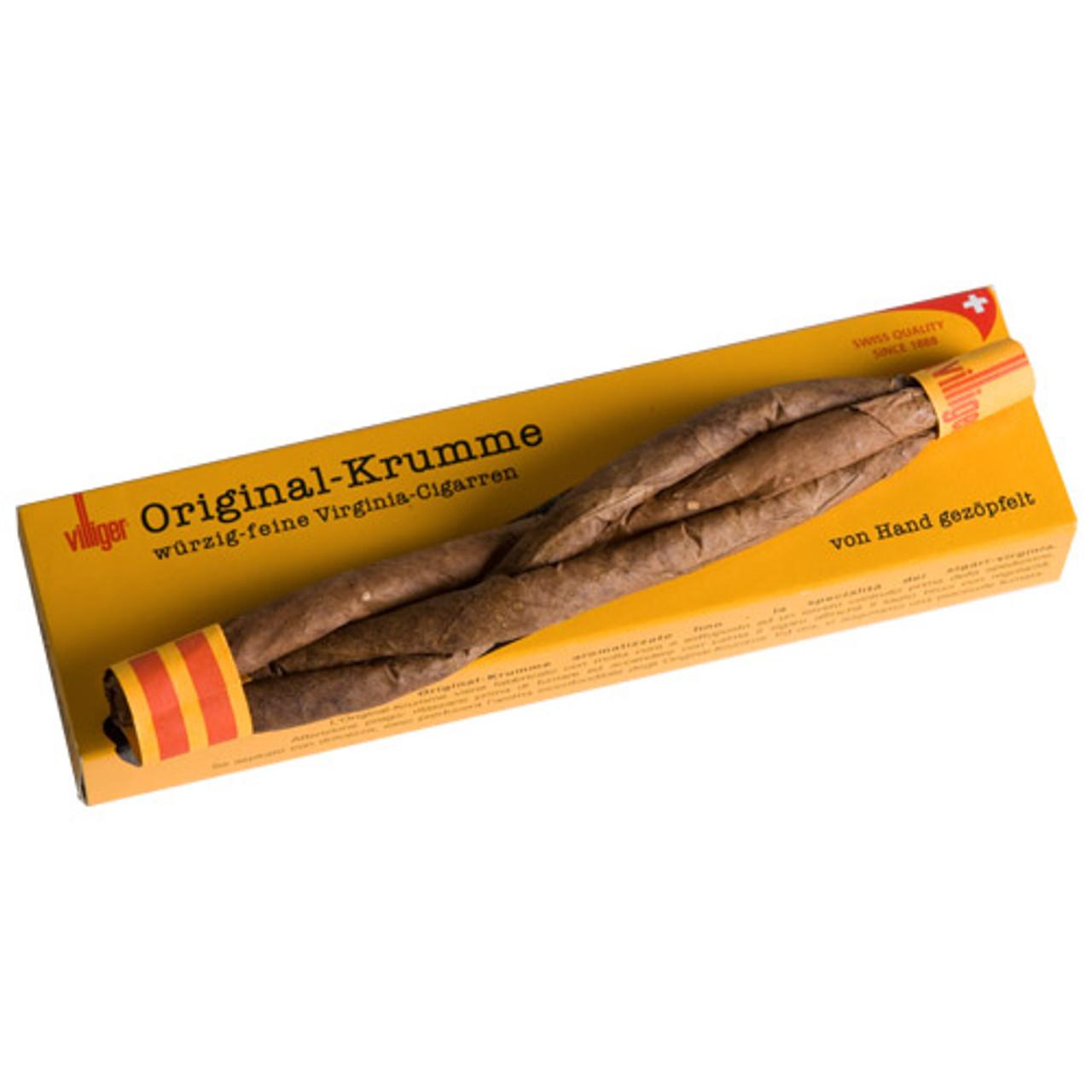 Villiger Original Krumme Cigars - 7.25 x 24 (Box of 24)
