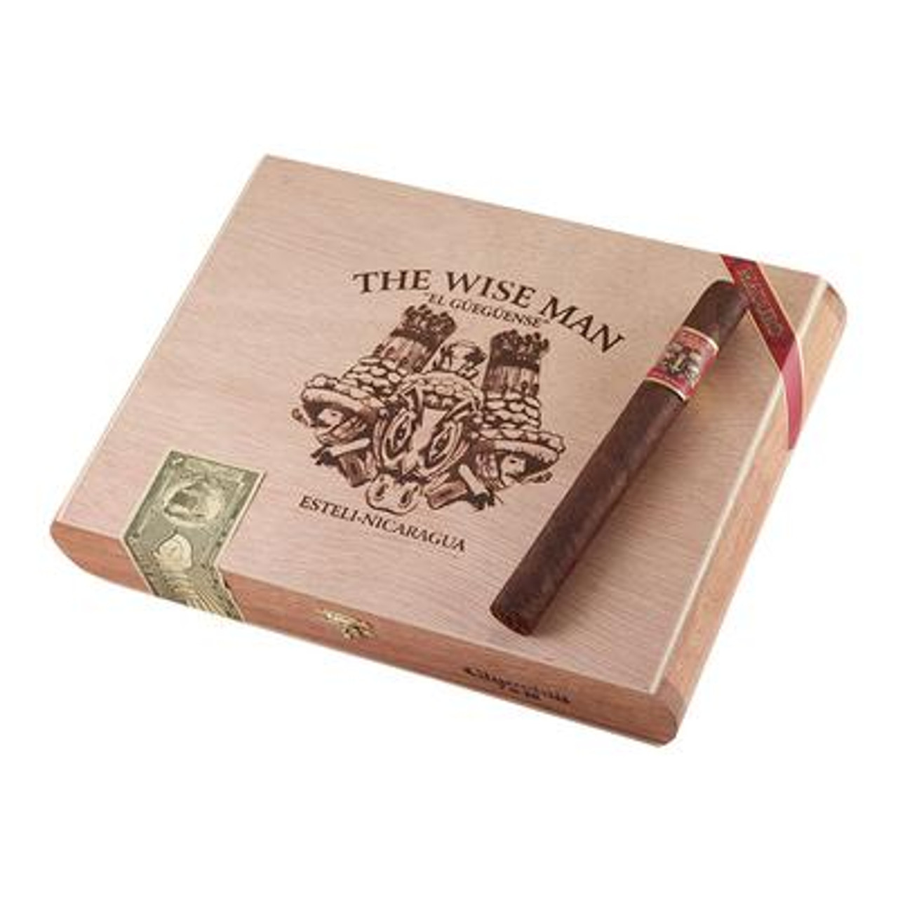 Foundation The Wise Man Maduro Churchill Cigars - 7 x 48 (Box of 25)