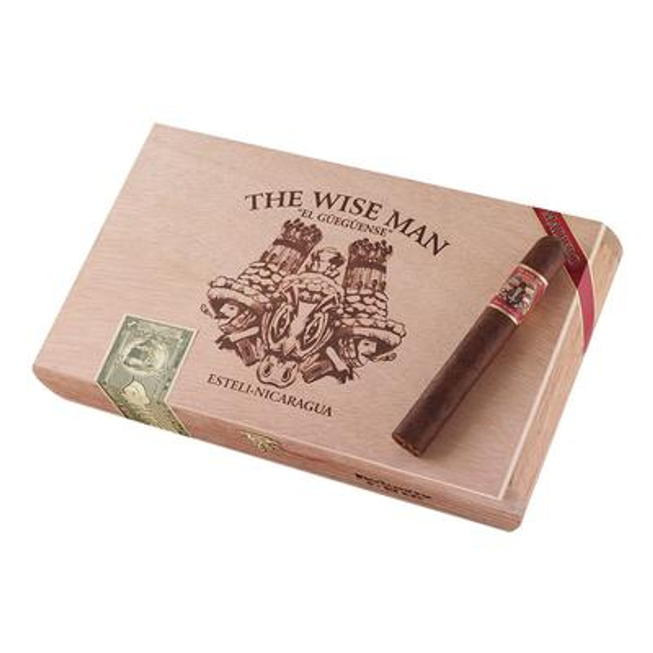 Wise Man Maduro Robusto Cigars - 5.5 x 50 (Box of 25)