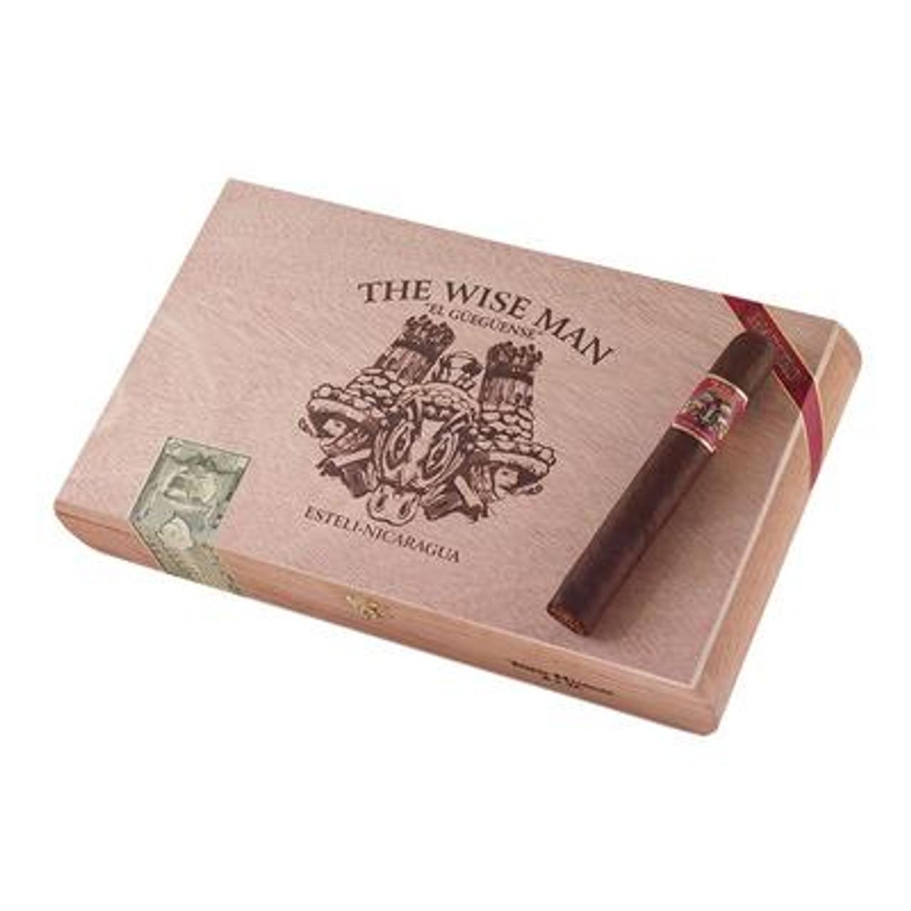 Foundation The Wise Man Maduro Toro Huaco Cigars - 6 x 56 (Box of 25)