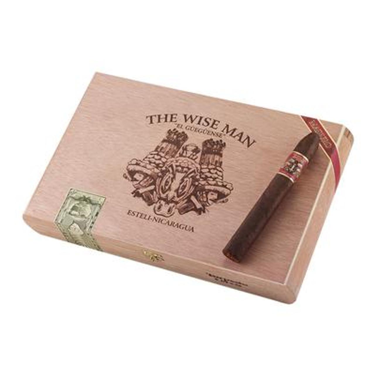 Foundation The Wise Man Maduro Torpedo Cigars - 6.25 x 52 (Box of 25)
