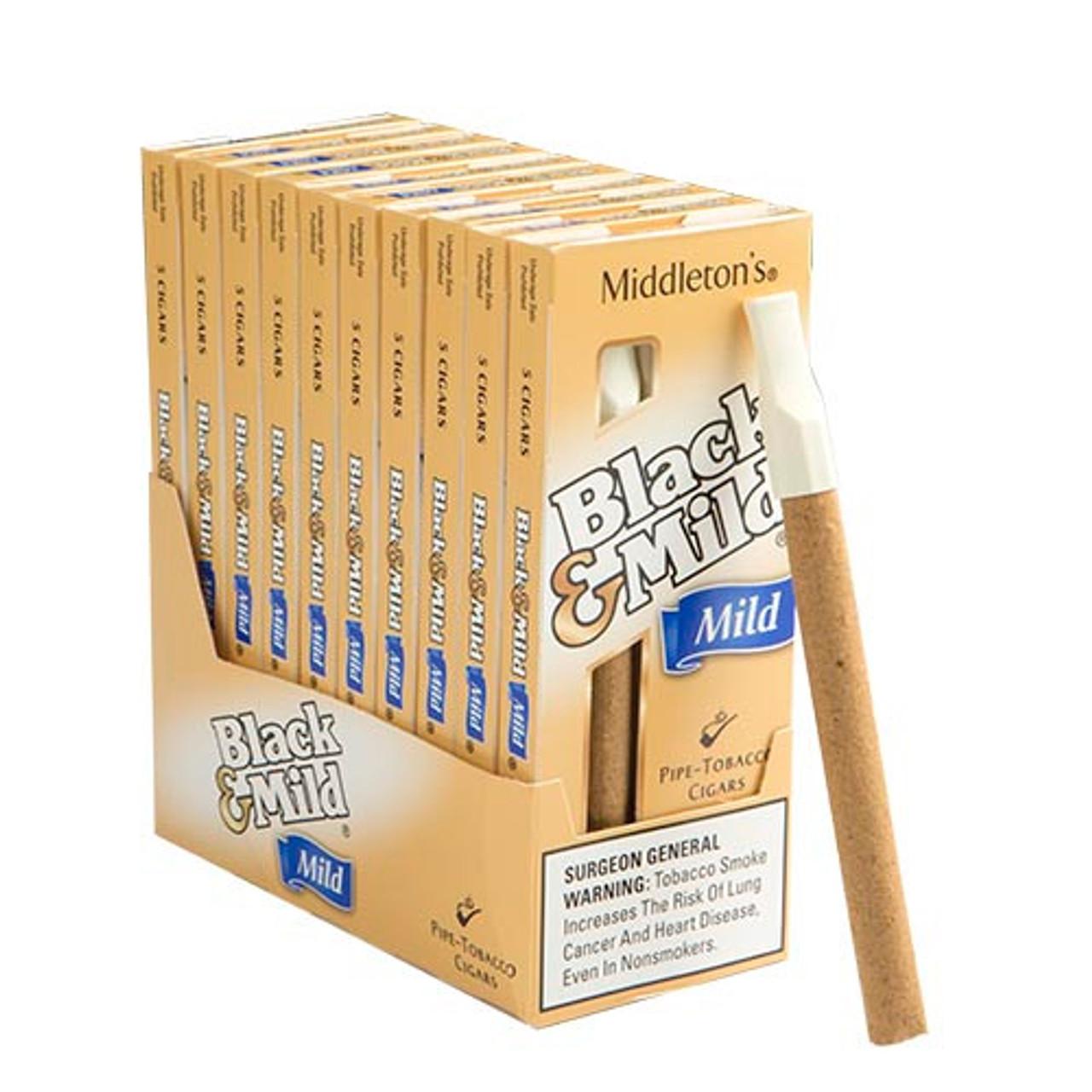 Black and Mild Select Cigars (10 packs of 5) - Natural