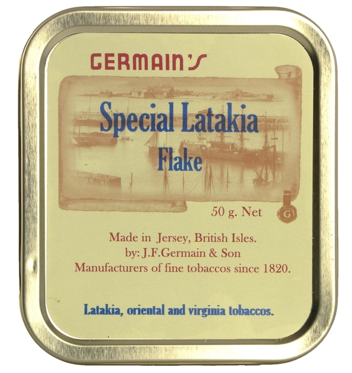 Germain's Special  Latakia Flake Pipe Tobacco | 1.75 OZ TIN