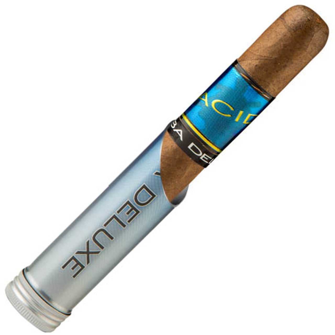 Acid Kuba Kuba Deluxe Tubed Cigars - 6 x 50 (Box of 10 Aluminum Tubes)
