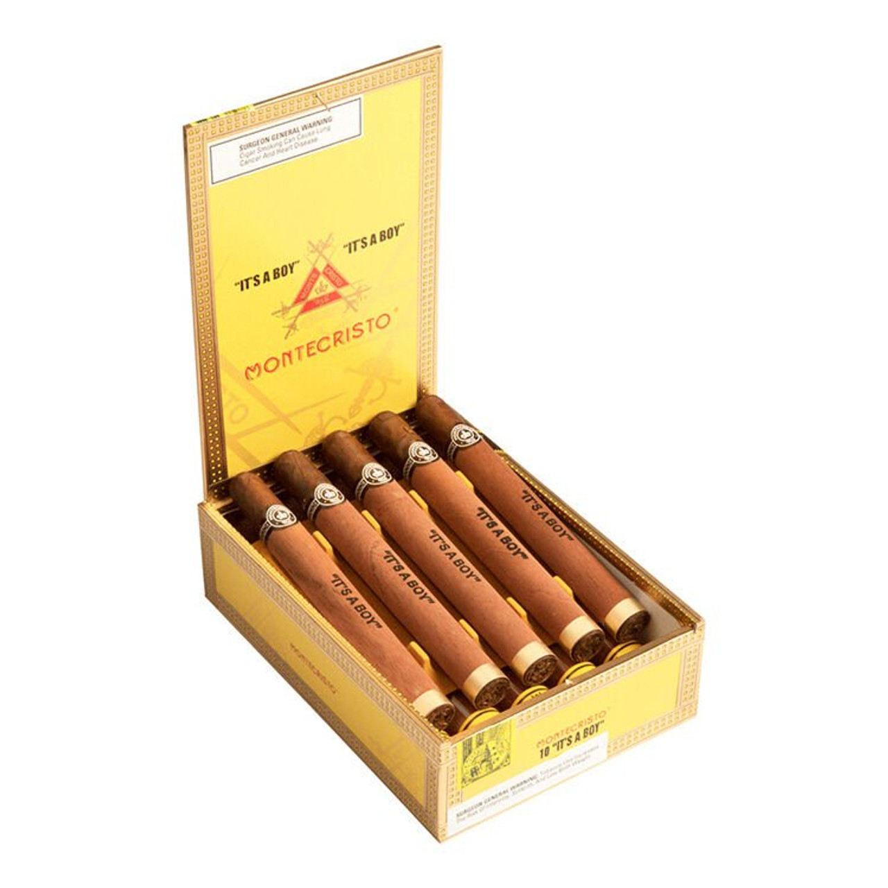 Montecristo Habana 2000 Clemenceaus Boy Cigars - 7.12 x 47 (Box of 10)
