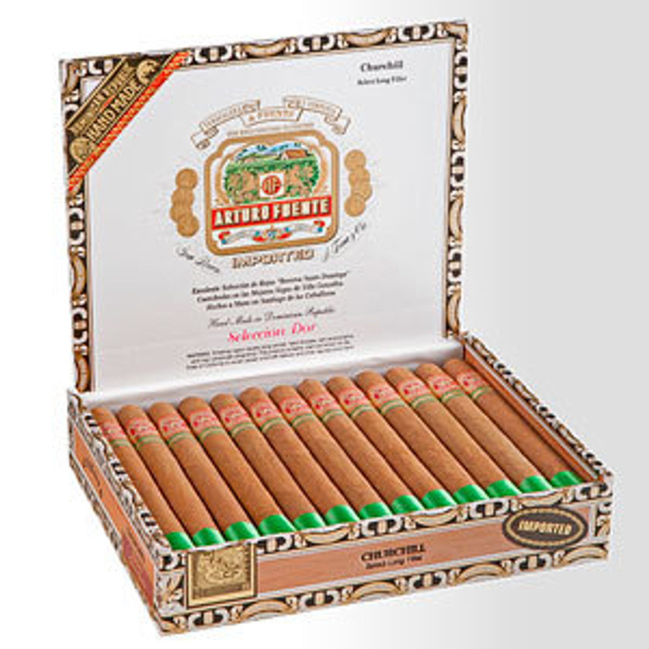 Arturo Fuente Double Chateau Maduro Cigars - 6 3/4 X 50 (Box of 20)