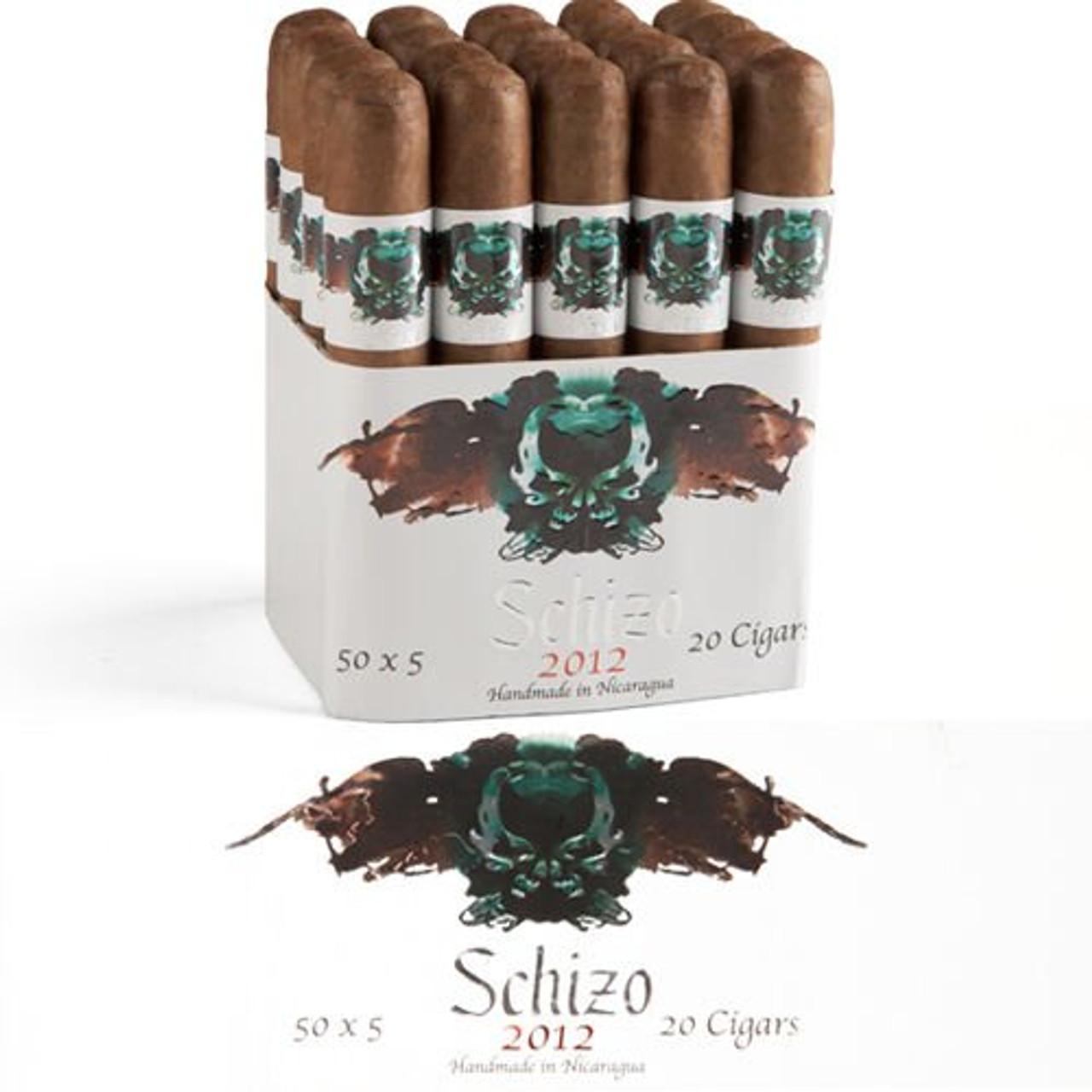 Asylum Schizo 5 X 50 Maduro Cigars - 5 x 50 (Bundle of 20)