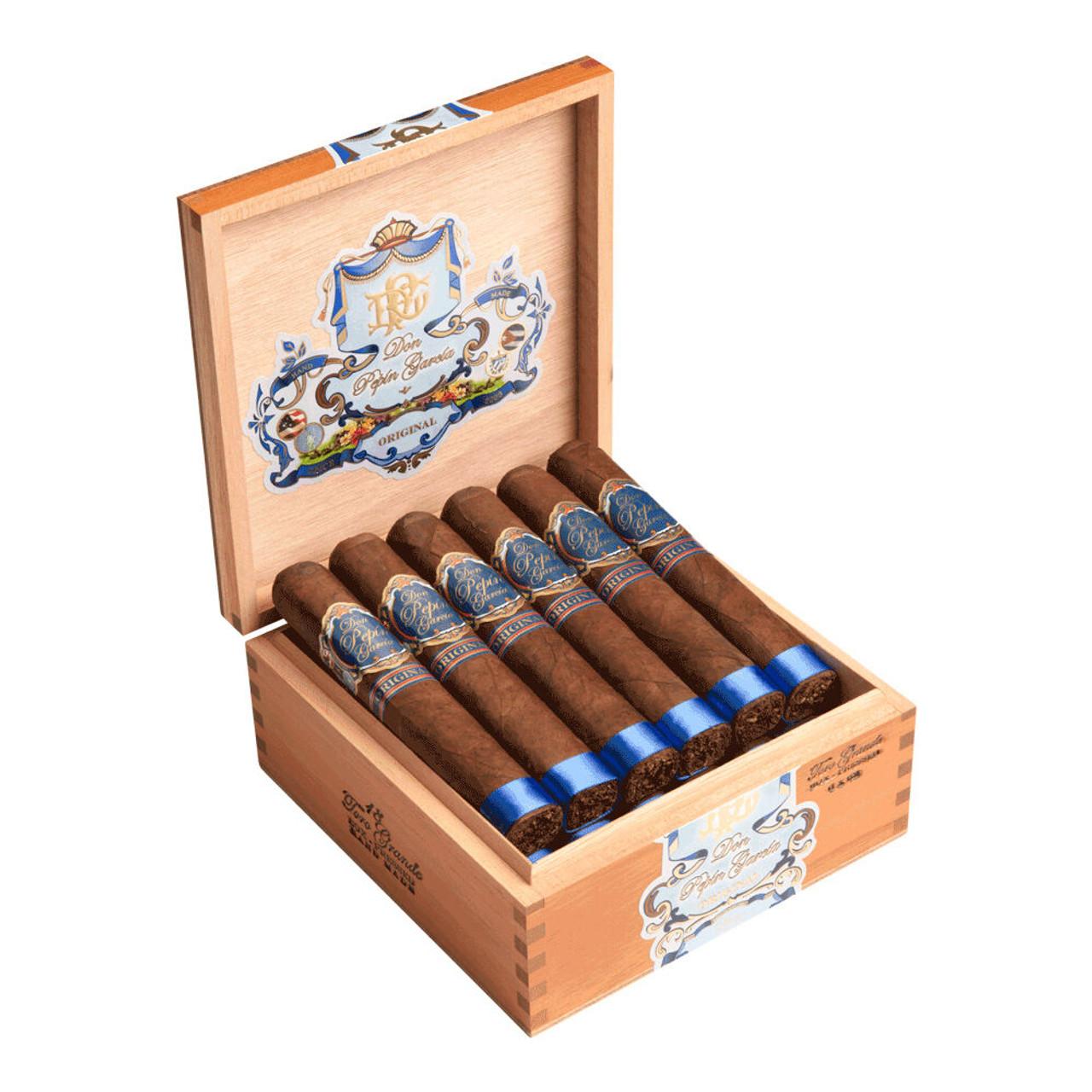 Don Pepin Garcia Blue Toro Grande Cigars - 6 x 52 (Box of 18 Box-Pressed)
