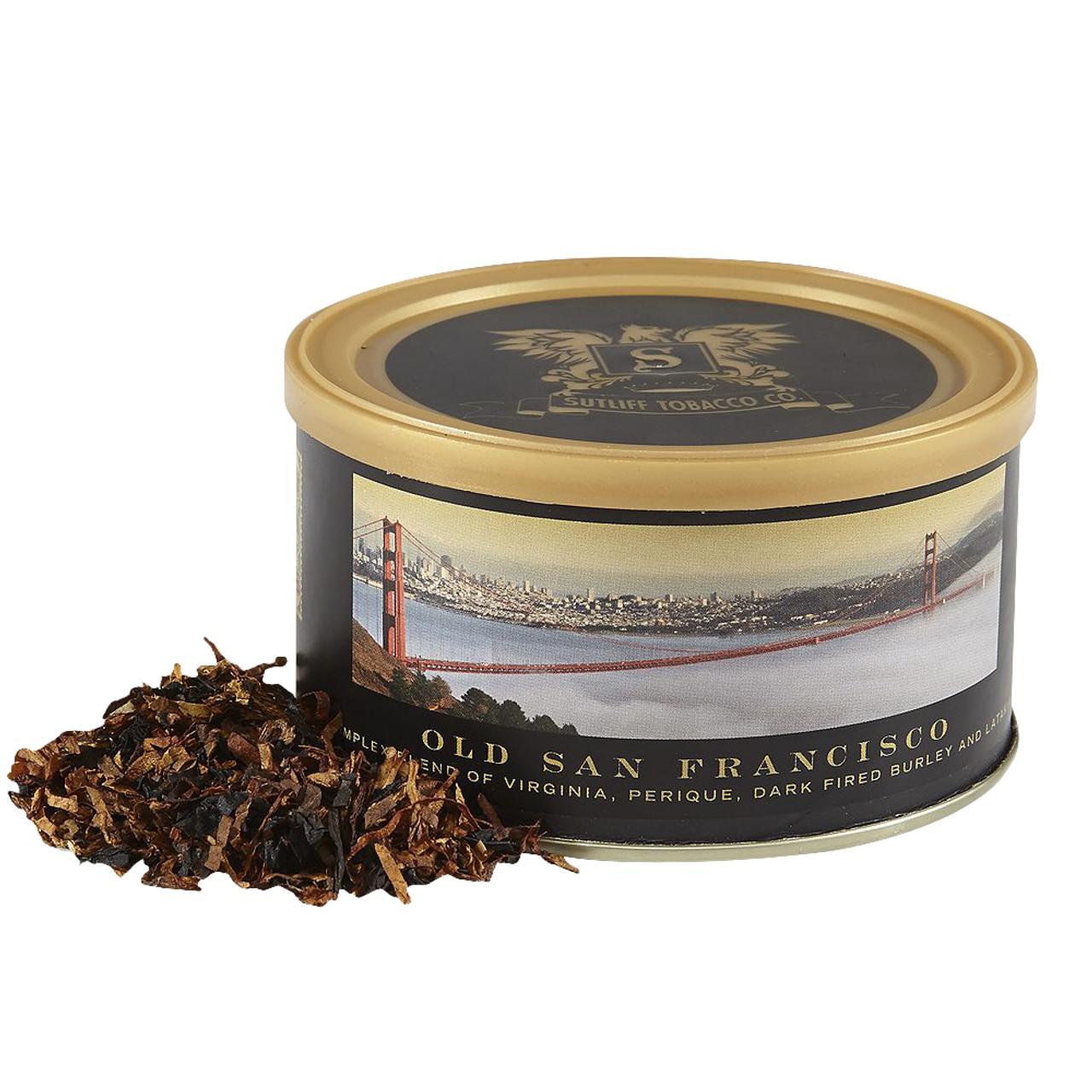 Sutliff Private Stock Old San Francisco Pipe Tobacco | 1.5 OZ TIN