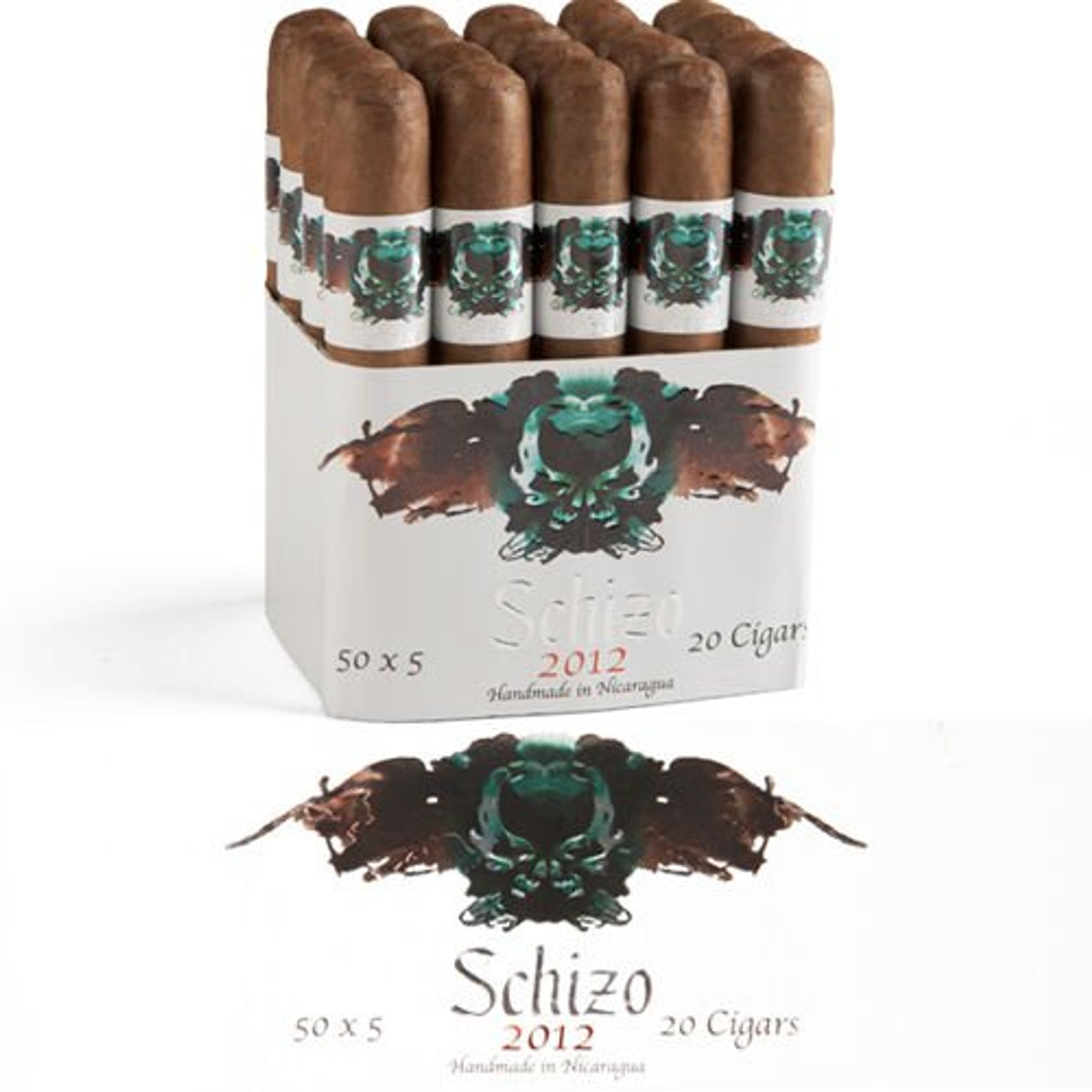 Asylum Schizo 6 X 50 Maduro Cigars - 6 x 50 (Bundle of 20)