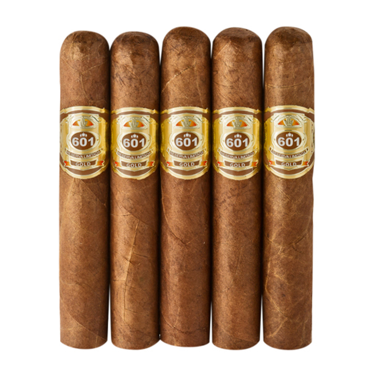 601 Gold Label Robusto Cigars - 5 x 50 (Pack of 5)