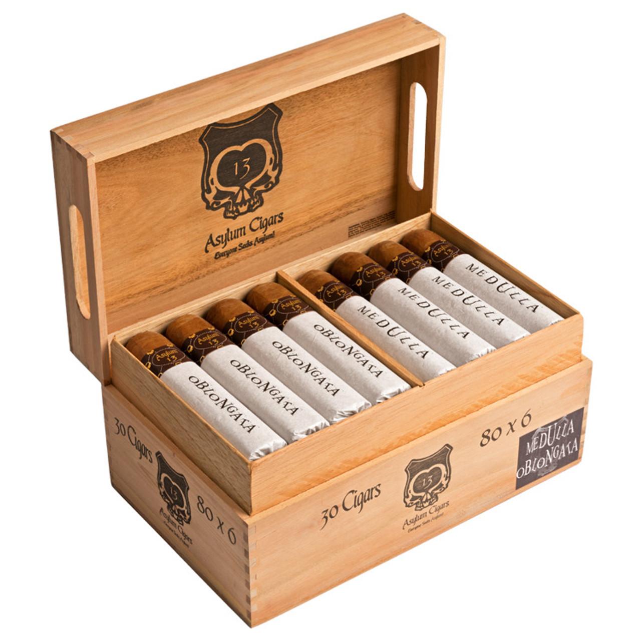 Asylum 13 Medulla Oblongata 80 X 6 Cigars - 6 x 80 (Box of 50)