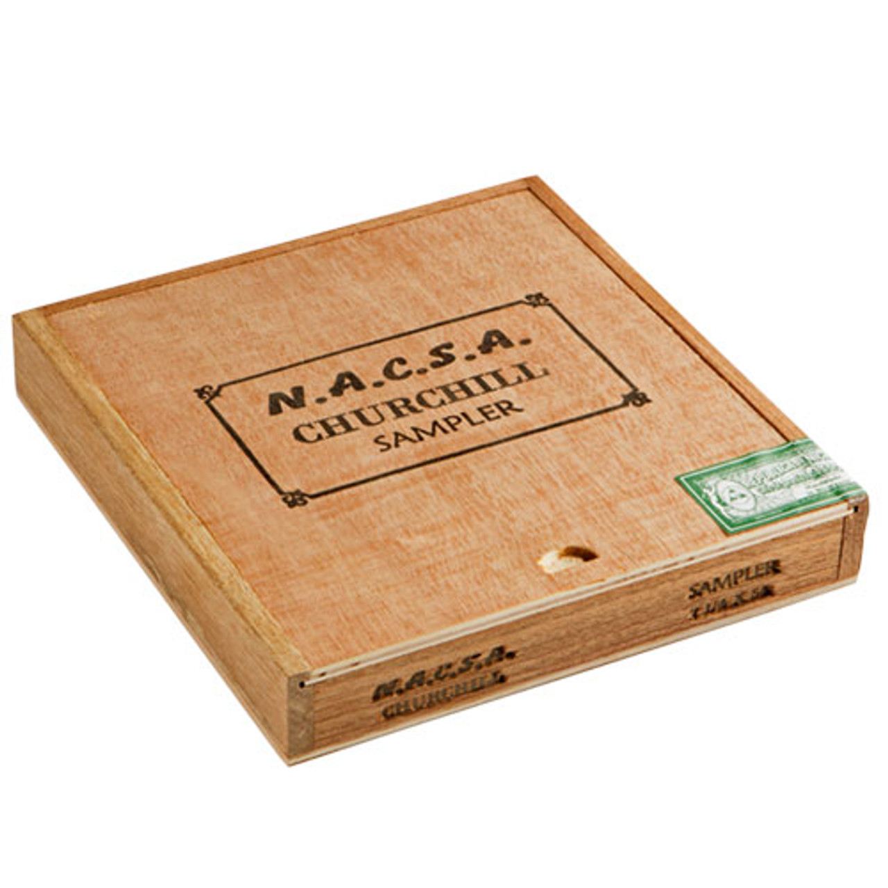Cigar Samplers NACSA Churchill Sampler Cigars - 7.25 x 54 (Box of 8)