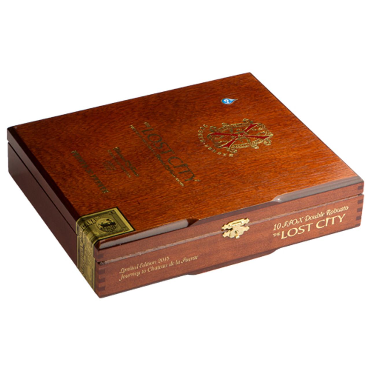 Fuente Fuente Opus X The Lost City Toro Cigars - 6.75 x 48 (Box of 10)
