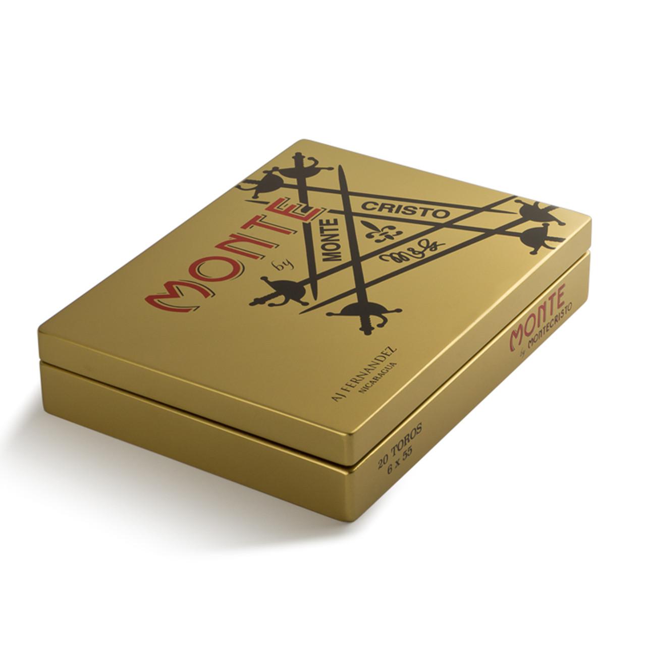 Monte by Montecristo AJ Fernandez Robusto Cigars - 4.25 x 54 (Box of 20)