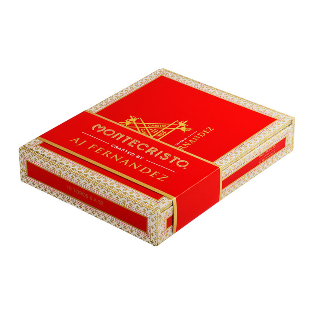 Montecristo Crafted by A.J. Fernandez Robusto Cigars - 5 x 52 (Box of 10)