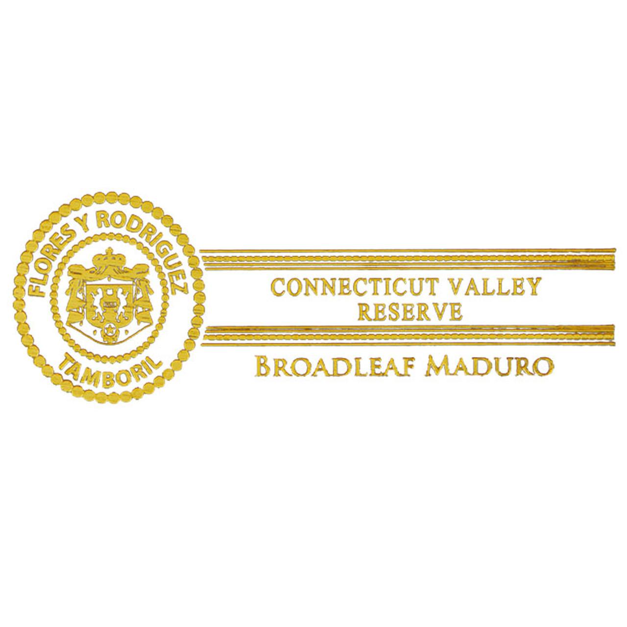 PDR Connecticut Valley Reserve Maduro Figurado Cigars - 6.5 x 52 (Jar of 19)