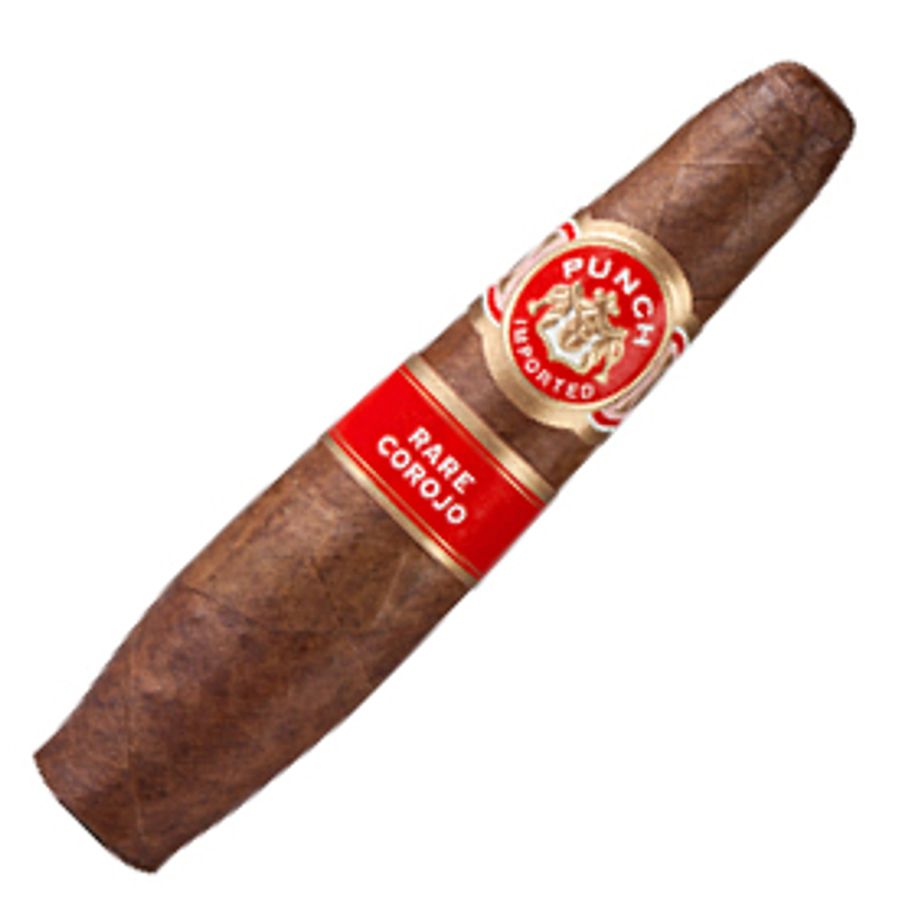 Punch Rare Corojo Champion Figurado Cigars - 4.5 x 60 (Box of 25)