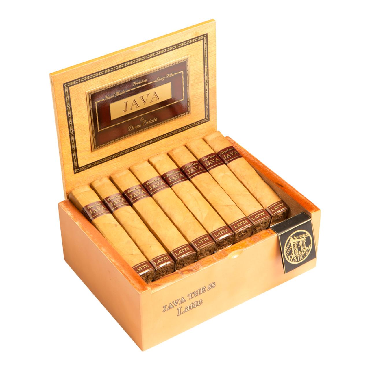 Rocky Patel Java Latte Petite Corona Cigars - 4.5 x 38 (Box of 40)