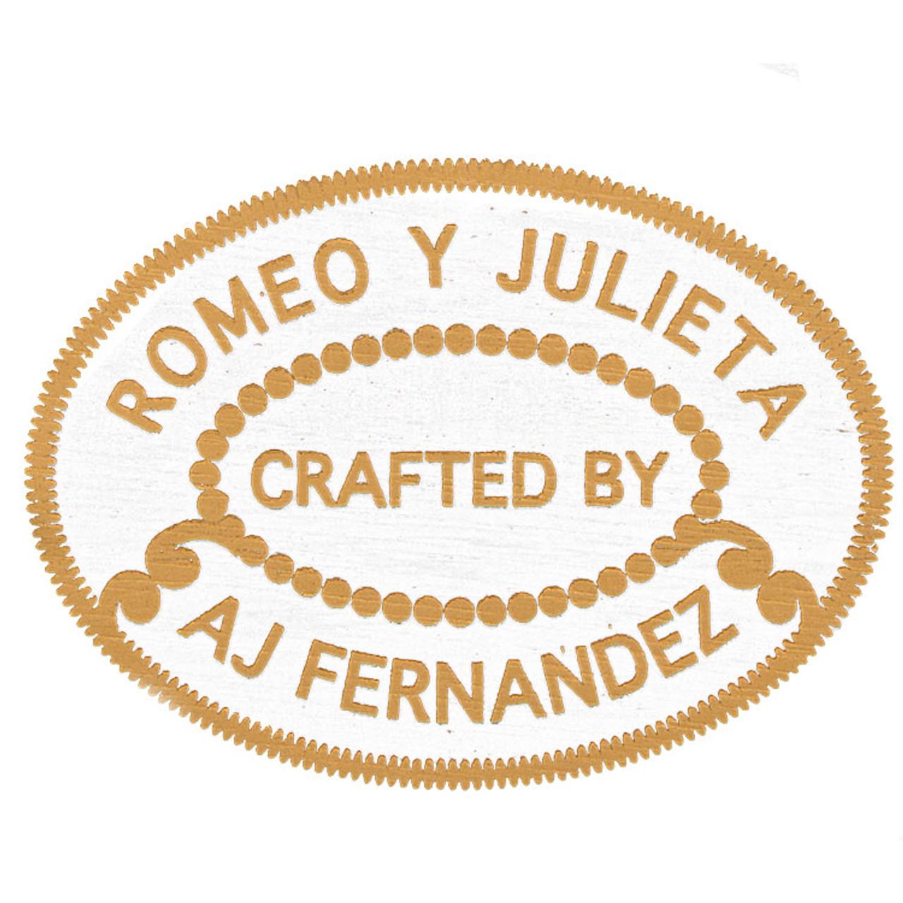 Romeo y Julieta by A.J. Fernandez Belicoso Cigars - 6 x 52 (Box of 20)