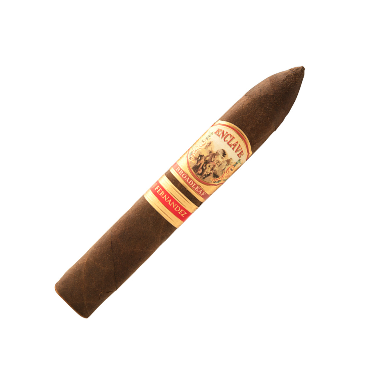 AJ Fernandez Enclave Broadleaf  Belicoso Cigars - 6 x 56 (Box of 20)