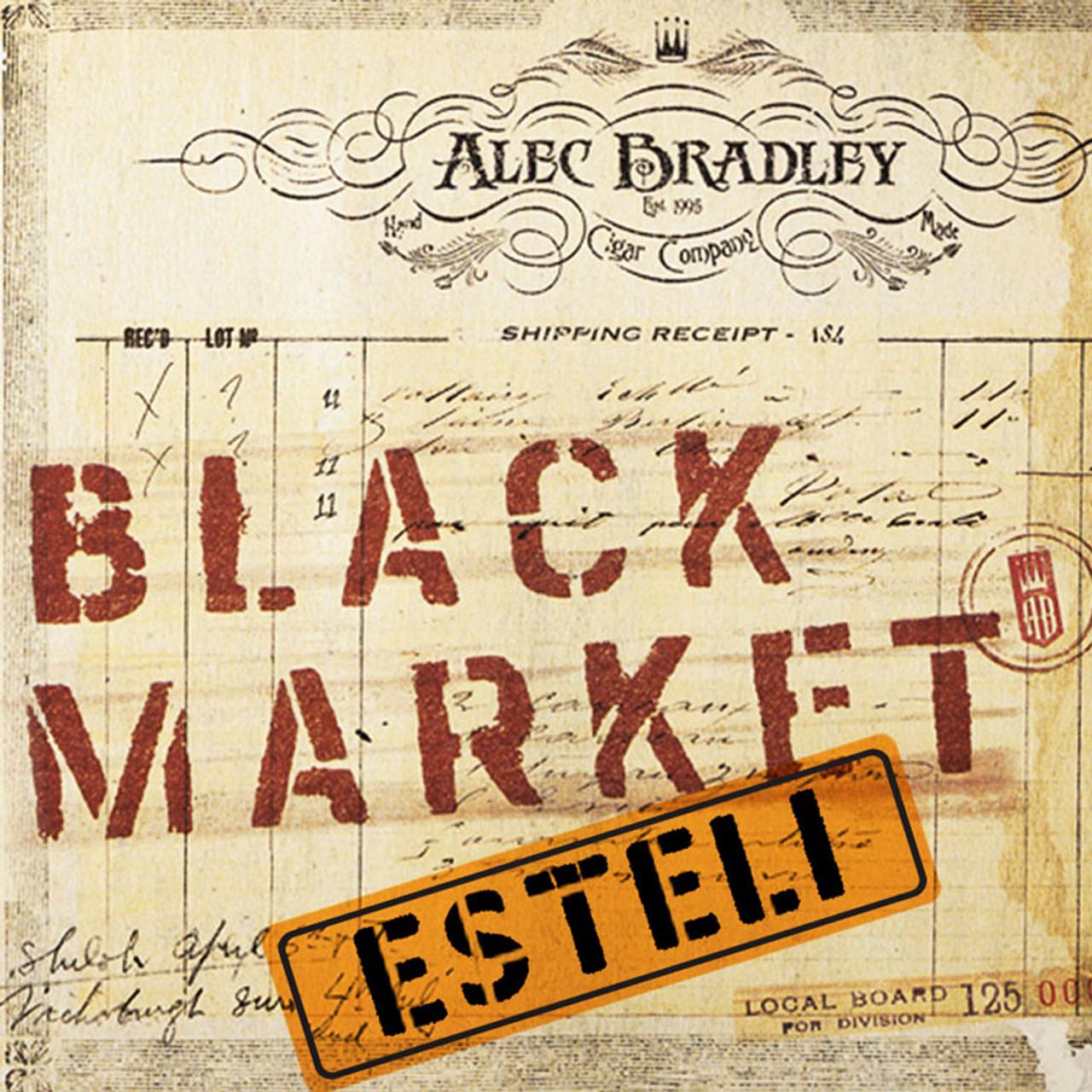Alec Bradley Black Market Esteli Robusto Cigars - 5 x 52 (Box of 22)