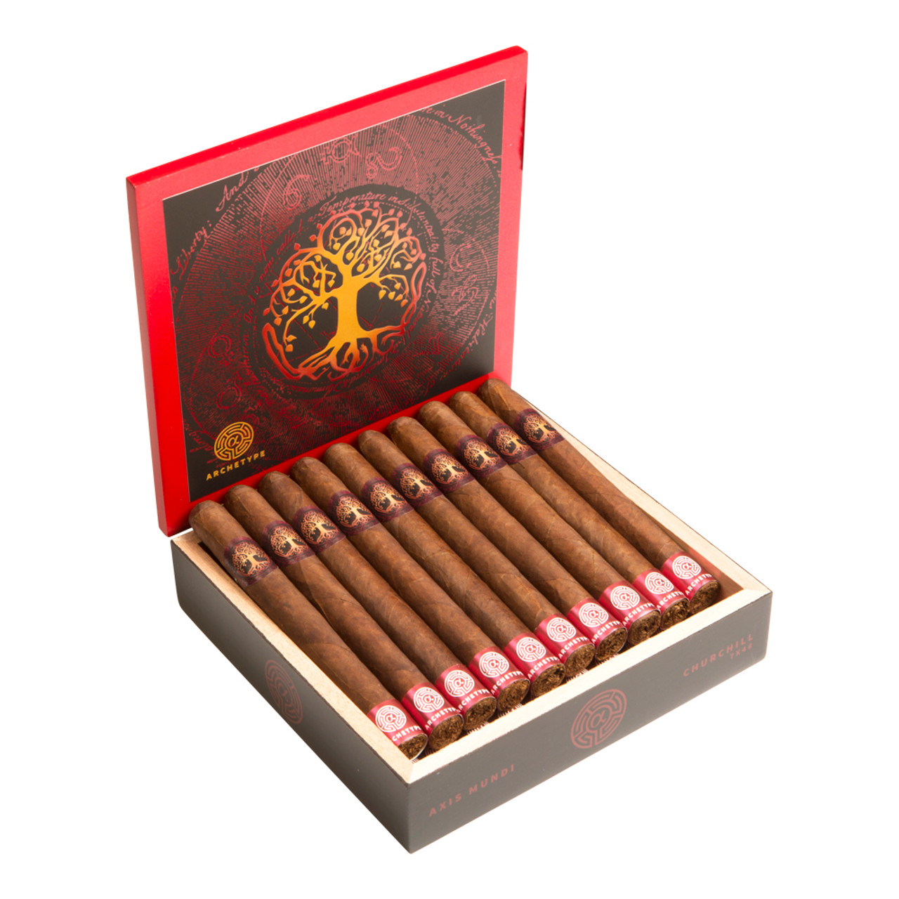 Archetype Axis Mundi Churchill Cigars - 7 x 48 (Box of 20)