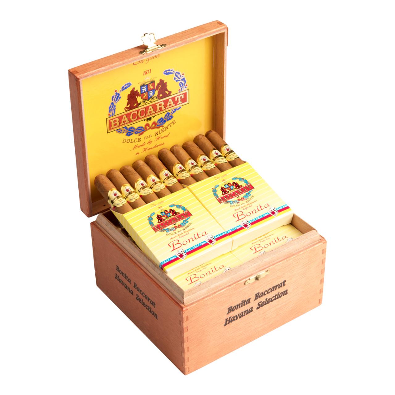 Baccarat Bonitas Cigars - 4.5 x 32 (Box of 60)