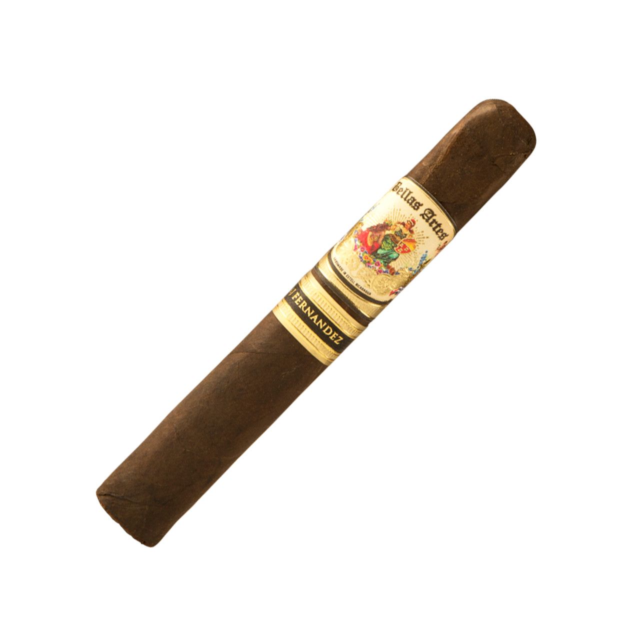 Bellas Artes by AJ Fernandez Maduro Brazil Robusto Cigars - 5.5 x 52 (Box of 20)