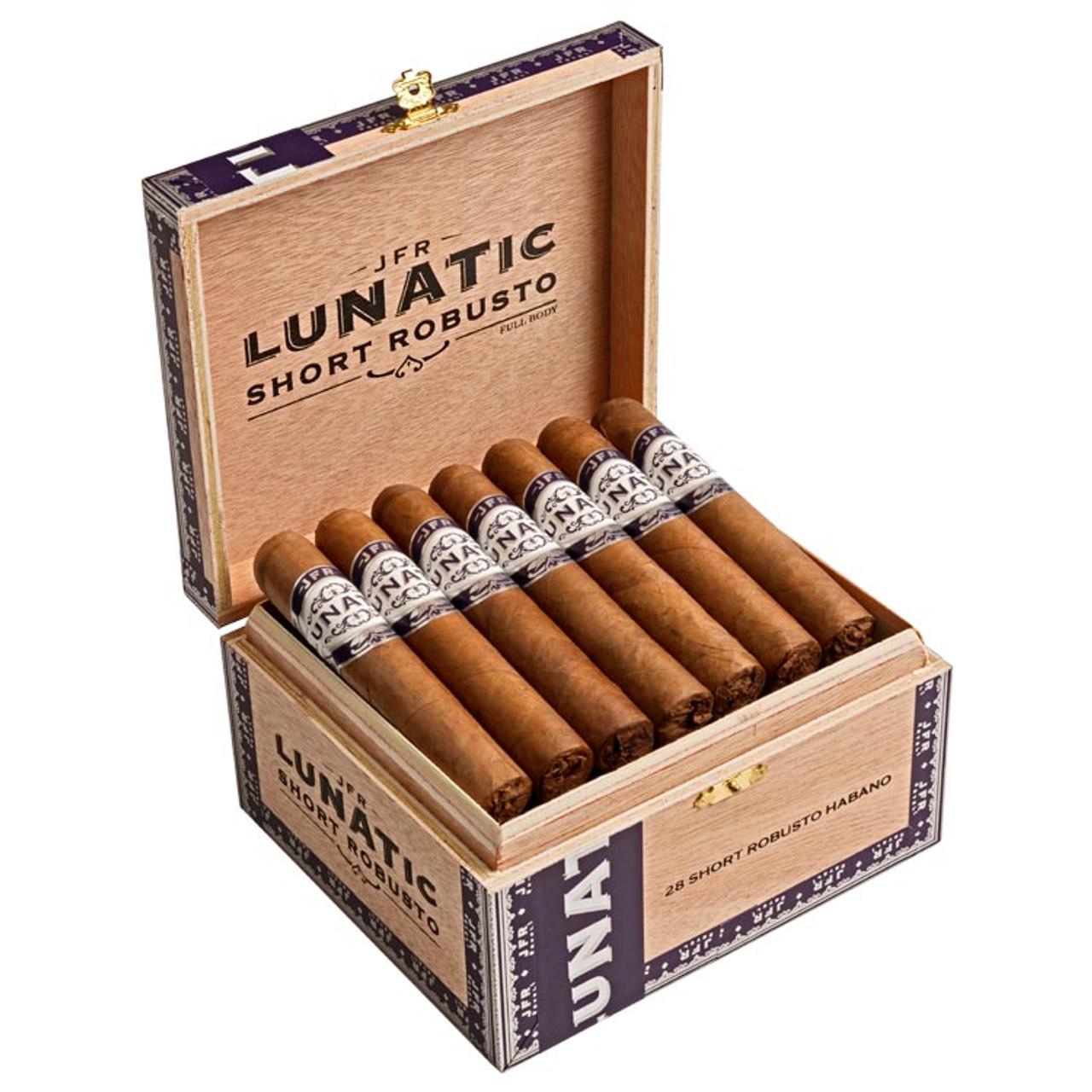 Casa Fernandez Lunatic Short Robusto Habano Cigars - 4.25 x 52 (Box of 28)