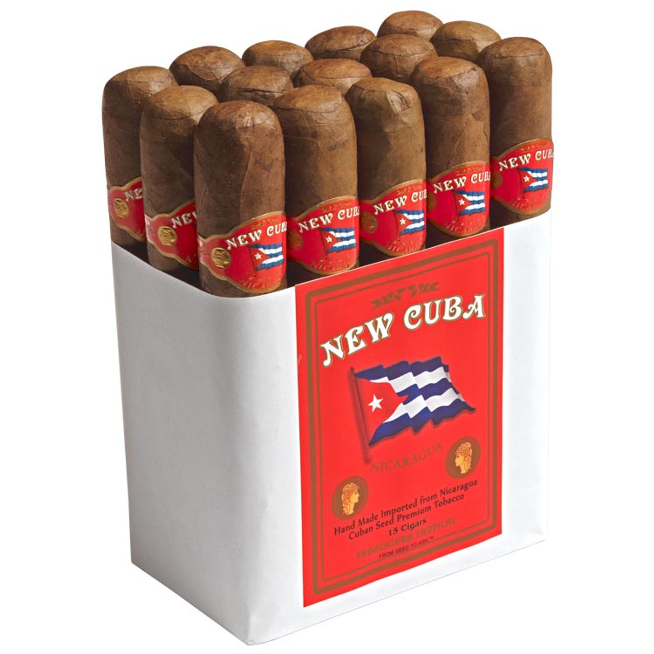Casa Fernandez New Cuba Corojo Titan Cigars - 6 x 60 (Bundle of 15)