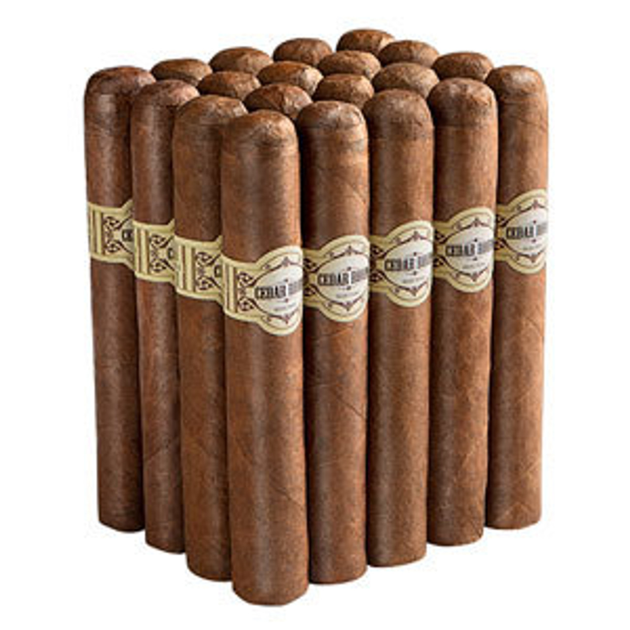 Cedar Room Connecticut Broadleaf Short Robusto Cigars - 4.25 x 54 (Bundle of 20)